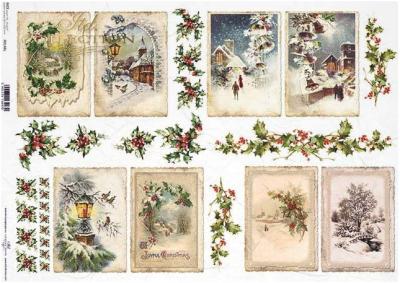 Zimné kartičky 1