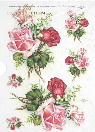 Ružové kytičky ruží