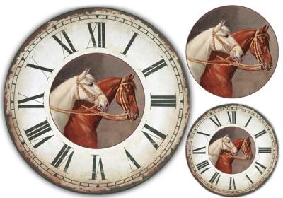 Hodiny s koňmi