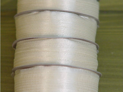 Saténová stužka 3mm krémová biela 5metrov