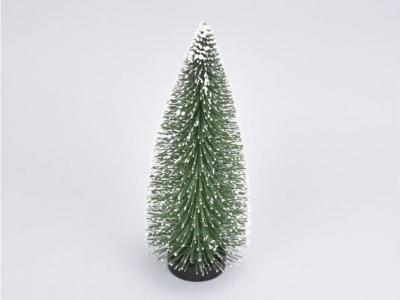 Stromček zasnežený zelený 15cm