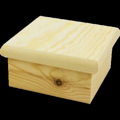 Krabička s bacuľatým vrchnákom