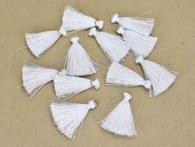 Textilný strapček biely