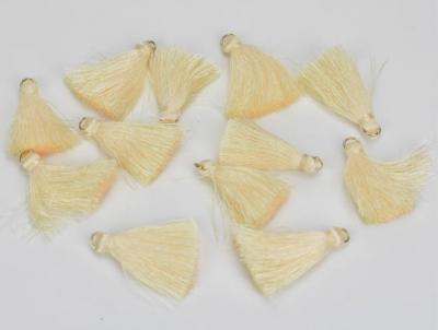 Textilný strapček krémovobiely