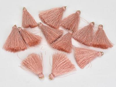 Textilný strapček lososový