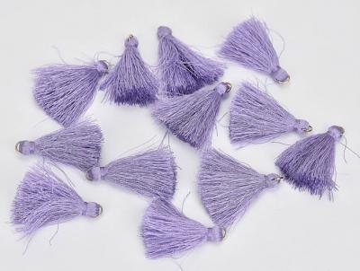Textilný strapček fialový