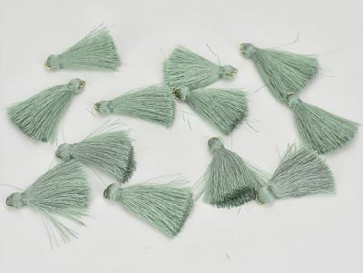 Textilný strapček mätovozelený