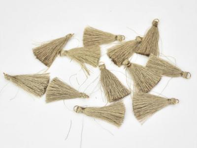 Textilný strapček antický zlatý