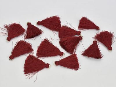 Textilný strapček červený