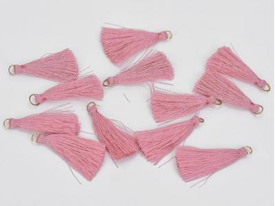 Textilný strapček ružový
