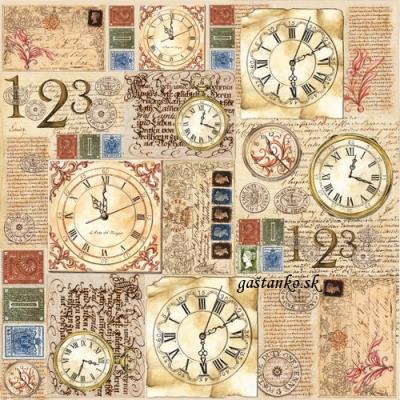 Antické hodiny a písma