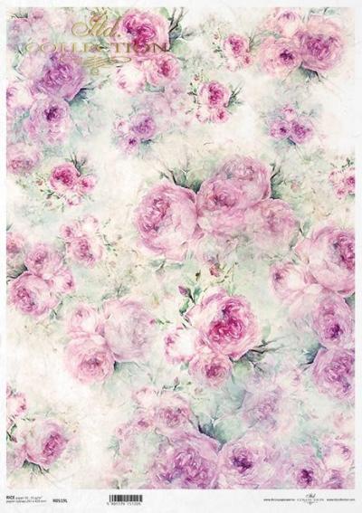 Pozadie so shabby chic ružami