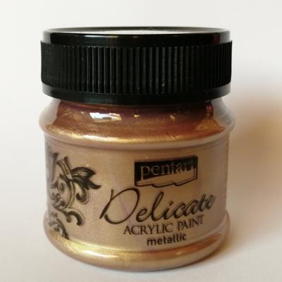 Delicate fialkasto-zlatá