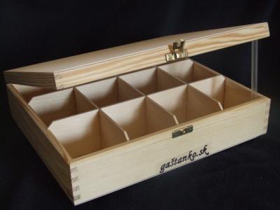 Krabička čajová 12SU