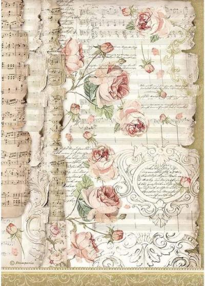 Ruže a hudba