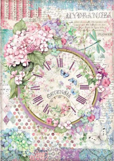 Hortenzia - hodiny