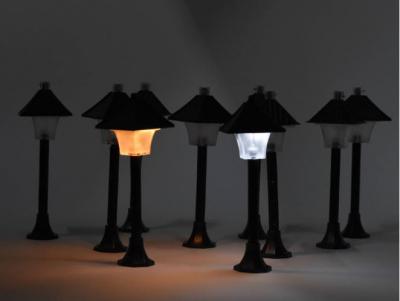 Kandeláber s LED svetielkom