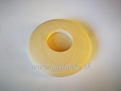 Svietnik na čajovú sviečku Disk centrický