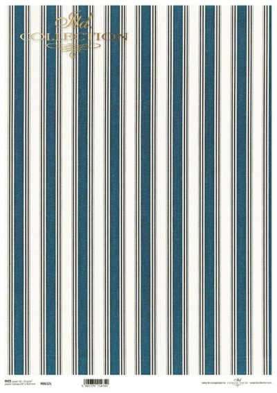 Elegantné pásiky modré