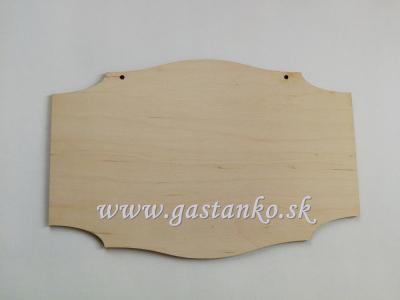 Ozdobná tabuľka 18x27cm
