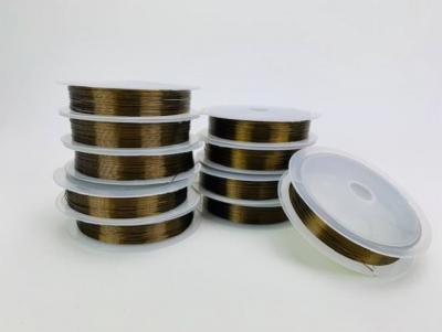 Dekoračný drôtik 0,4mm 8m hnedý