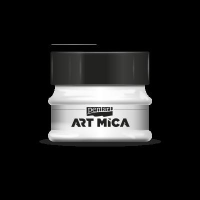 Art mica perleťový biely