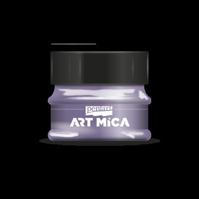 Art mica magický fialový