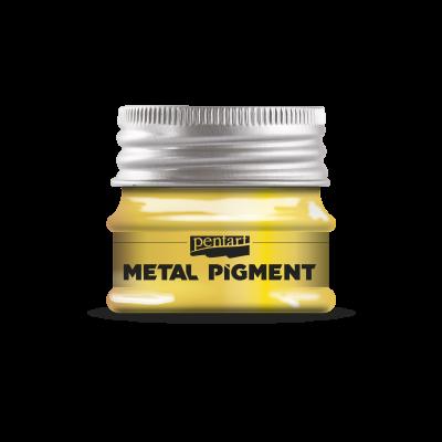 Metalický pigment zlatý