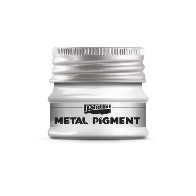 Metalický pigment strieborný trblietavý