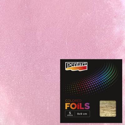 Plátky farebnej fólie svetlofialové