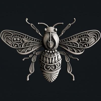 Silikónová forma Busy Bee