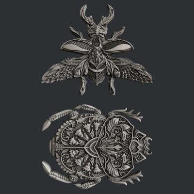 Silikónová forma Loveable bugs