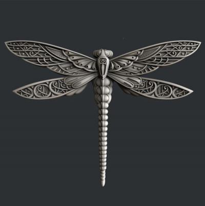 Silikónová forma Dragonfly wings