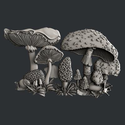 Silikónová forma Fairyland Mushrooms