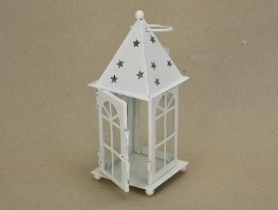 Lampášik s hviezdičkami na čajovú sviečku
