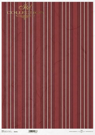 RP Elegantné pásiky červené